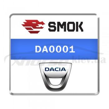 Активация DA0001 - Dacia OBD