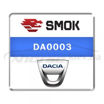 Активация DA0003 - Dacia 2016-... ABS ATE OBD