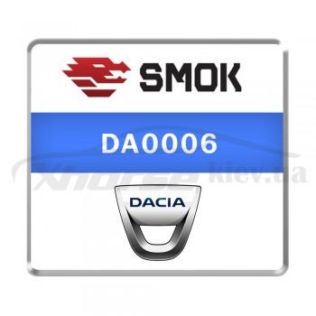 Активация DA0006 - Dacia 2013-2018 car without ABS system