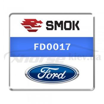 Активация FD0017 - Ford Ranger 2017 OBD
