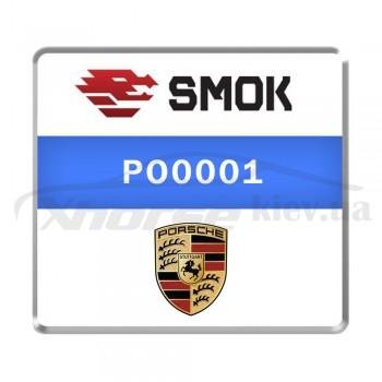 Активация PO0001 - Porsche 2010-... change KM by OBD