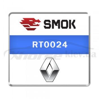 Активация RT0024 - Clio 4 /Capture/ Trafic III 2018-... OBD KM + blockade ABS