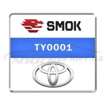 Активация TY0001 - Toyota Dash Auris/Avensis 2013 OBD