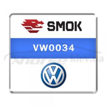 Активация VW0034 - VW UP 2017