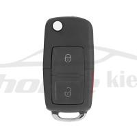 Ключ универсальный выкидной KD B01-2+1 2 but+PANIC Keydiy