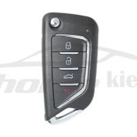 Ключ универсальный выкидной KD B21-4 3 but + Panic Keydiy
