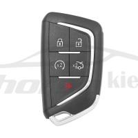 Ключ универсальный smart ZB07 4 but+PANIC Keydiy