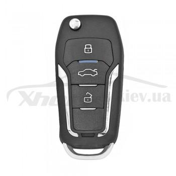 Ключ универсальный выкидной Smart KD ZB12-3 3 but Keydiy