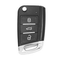Ключ универсальный выкидной Smart KD ZB15-3 3 but Keydiy