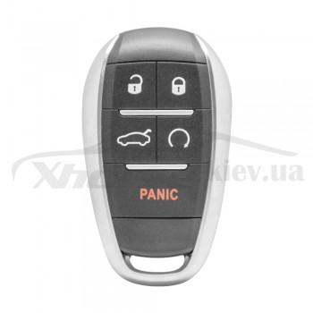 Ключ универсальный Smart KD ZB16-5 4 but+PANIC Keydiy