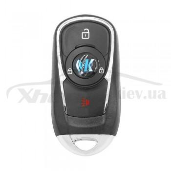Ключ универсальный Smart KD ZB22-3 2 but+PANIC Keydiy