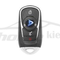 Ключ универсальный выкидной Smart KD ZB22-4 3 but+PANIC Keydiy