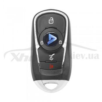 Ключ универсальный Smart KD ZB22-4 3 but+PANIC Keydiy