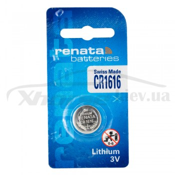 БАТАРЕЙКА CR1616 RENATA BATTERIES