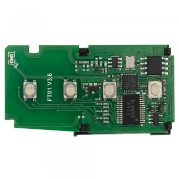 Эмулятор смарт ключей FT01-0020C для Toyota Camry Corolla 2014 GCC 433/434 МГц Toyota 8A Smart Key Lonsdor