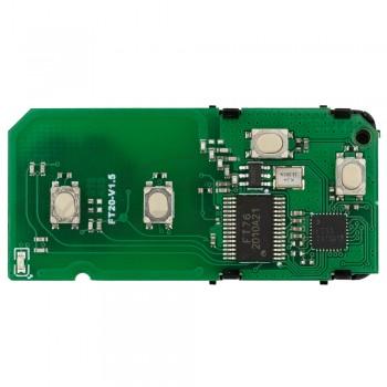 Эмулятор смартключей FT20-0140D для Toyota 433.92 МГц ASK Toyota 4D Smart Key Lonsdor