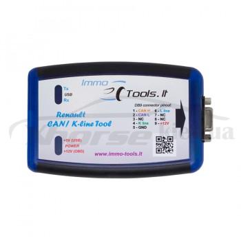 Программатор ключей Renault CAN/K-line ECU Tool