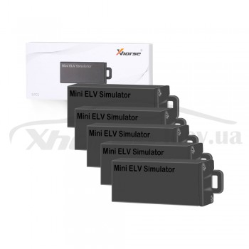 Набор эмуляторов ESL/ELV VVDI MINI ELV Emulator for Benz W204 W207 W212 5 шт.