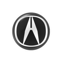 Стікер (наліпка) 14 мм Acura для автомобільного ключа