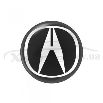 Стикер (наклейка) 14 мм Acura для автомобильного ключа