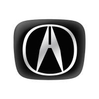 Стикер (наклейка) 13x11 мм Acura для автомобильного ключа