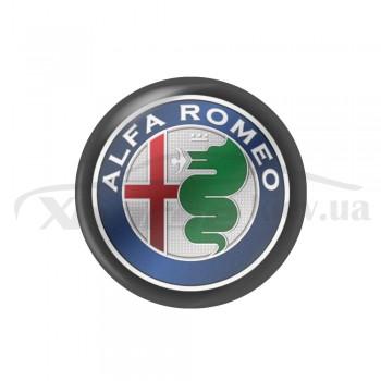 Стикер (наклейка) 14 мм Alfa Romeo для автомобильного ключа