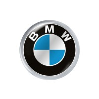 Стікер (наліпка) 10 мм  BMW для автомобільного ключа