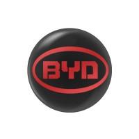 Стікер (наліпка) 14 мм  BYD для автомобільного ключа