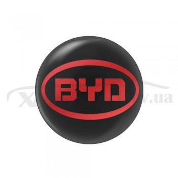Стикер (наклейка) 14 мм  BYD для автомобильного ключа