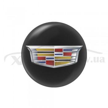 Стикер (наклейка) 14 мм  Cadillac для автомобильного ключа