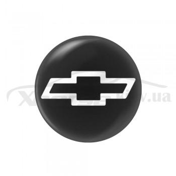 Стикер (наклейка) 13 мм Chevrolet для автомобильного ключа
