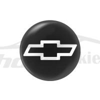 Стикер (наклейка) 14 мм Chevrolet для автомобильного ключа