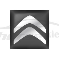 Стикер (наклейка) квадрат 15,6х15,6 Citroen для автомобильного ключа