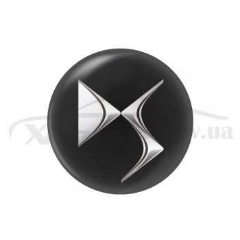 Стикер (наклейка) 14 мм DS для автомобильного ключа