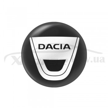 Стикер (наклейка) 14 мм Dacia для автомобильного ключа