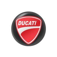 Стікер (наліпка) 14 мм Ducati для ключа мотоцикла