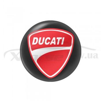 Стикер (наклейка) 14 мм Ducati для ключа мотоцикла