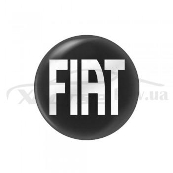 Стікер (наліпка) 14 мм Fiat для автомобільного ключа