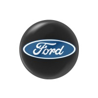 Стикер (наклейка) 14 мм Ford для автомобильного ключа