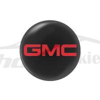Стикер (наклейка) 14 мм GMC для автомобильного ключа