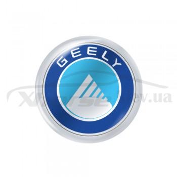 Стикер (наклейка) 14 мм Geely для автомобильного ключа