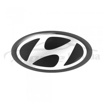 Стикер (наклейка) овал 14,7x7,5 мм Hyundai для автомобильного ключа