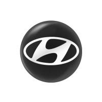 Стикер (наклейка) 14 мм Hyundai для автомобильного ключа