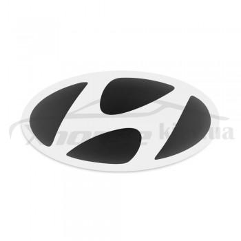 Стикер (наклейка) овал 16,5х8,5 мм Hyundai для автомобильного ключа