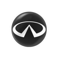 Стикер (наклейка) 14 мм Infinity для автомобильного ключа