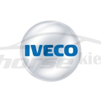 Стикер (наклейка) 14 мм Iveco для автомобильного ключа