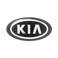 Стікер (наліпка) овал 14,7x7,5 мм Kia для автомобільного ключа