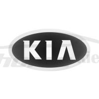 Стикер (наклейка) овал 16,5х8,5 мм KIA для автомобильного ключа