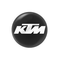 Стикер (наклейка) 14 мм KTM для ключа мотоцикла