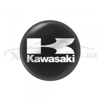 Стикер (наклейка) 14 мм Kavasaki для ключа мотоцикла